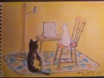 白猫、自身を語る20150822.JPG